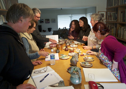 Luster Glazes Unveiled Workshop Participants